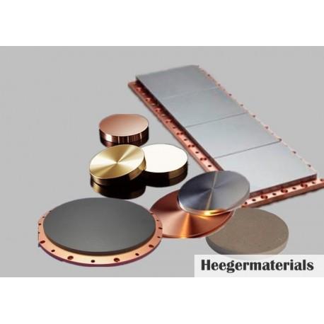 Zirconium Copper (Zr/Cu) Sputtering Target