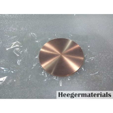 Copper (Cu) Sputtering Target-heegermaterials