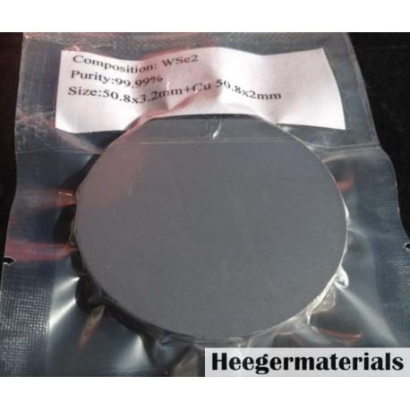 Tungsten Selenide (WSe2) Sputtering Target