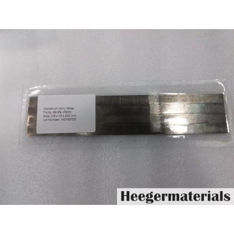 Samarium (Sm) Sheet Samarium Foil Samarium Disc-heegermaterials