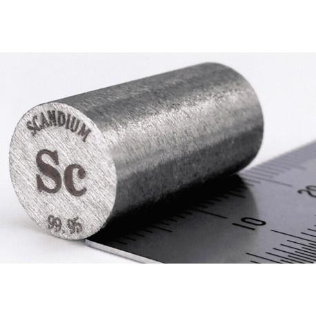 Scandium (Sc) Rod / Wire-heegermaterials