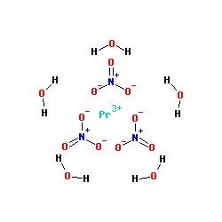 Praseodymium Nitrate Pr(NO3)3.6H2O