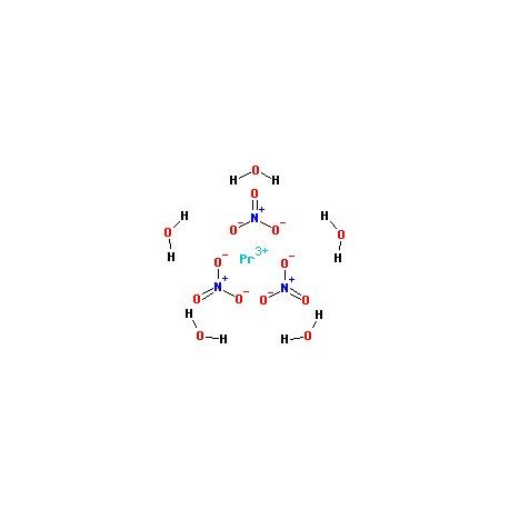 Praseodymium Nitrate Pr(NO3)3.6H2O-heegermaterials
