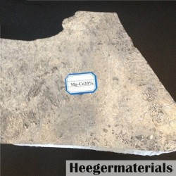 Magnesium Cerium Master Alloy (Mg-Ce Alloy)